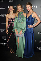 Lara Leito, Petra Nemcova and Arizona Muse at the BOVET 1822 Brilliant is Beautiful Gala benefitting Artists for Peace and Justice's Global Education Fund for Woman and Girls at Claridge's Hotel on December 1, 2017<br /> CAP/ROS<br /> &copy;Steve Ross/Capital Pictures /MediaPunch ***NORTH AND SOUTH AMERICAS ONLY***