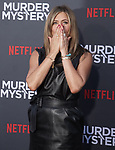 "Jennifer Aniston 065 arrives at the LA Premiere Of Netflix's ""Murder Mystery"" at Regency Village Theatre on June 10, 2019 in Westwood, California"