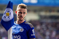 James Maddison during the Premier League match between Leicester City and Tottenham Hotspur at the King Power Stadium, Leicester, England on 21 September 2019. Photo by James  Gill / PRiME Media Images.