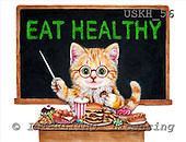 Kayomi, CUTE ANIMALS, paintings, EatHealthy_M, USKH56,#AC# illustrations, pinturas ,everyday