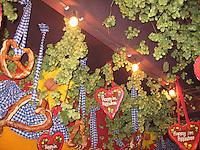 Traditional Oktoberfest decor - Munich, Germany
