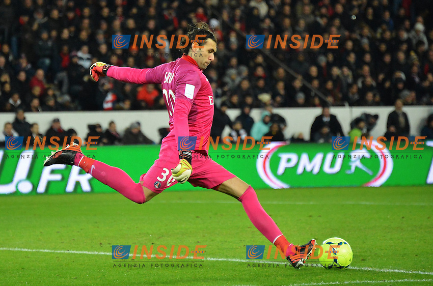 Salvatore Sirigu (PSG)  .Football Calcio 2012/2013.Ligue 1 Francia.Foto Panoramic / Insidefoto .ITALY ONLY