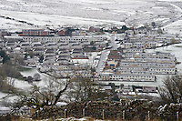 Weather Uk Snow Wales<br /> Sunday 20th November 2016<br /> Snow at Rhymney in South Wales