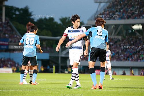 Masato Morishige (FC Tokyo), <br /> JULY 11, 2015 - Football / Soccer : <br /> 2015 J1 League 2nd stage match <br /> between Kawasaki Frontale 2-0 F.C. Tokyo <br /> at Kawasaki Todoroki Stadium, Kanagawa, Japan. <br /> (Photo by AFLO SPORT)