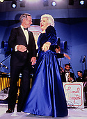 United States President George H.W. Bush and first lady Barbara Bush attend an Inaugural Ball on Inauguration Day, January 20, 1989 in Washington, DC.<br /> Credit: Pam Price / Pool via CNP