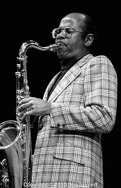 Benny Golson, 9/20/75, Monterey Jazz Festival. American bebop/hard bop jazz tenor saxophonist, composer, and arranger.