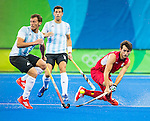 18/8 final men Belgie-Argentina