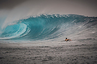 Namotu Island Resort, Nadi, Fiji (Monday, May 22 2017): Connor O'Leary (AUS) The wind  this morning was light from the South South East with high tide around 3.30pm.  The swell had jumped overnight and continued to build through the day. Cloudbreak had 10' plus faces and was barreling through the inside ,especially around the 9.30 low tide. A big group of pro surfers, both male and female, were surfing Cloudbreak in preparation for the OK Fiji Pro which begins on Saturday. Guests surfed Cloudbreak and Lefts.   The fishing crew returned with a catch of Ruby Snapper. Photo: joliphotos.com