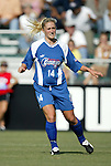 9 August 2003: Marcia Wallis. The Carolina Courage tied the Philadelphia Charge 1-1 at SAS Stadium in Cary, NC in the final regular season WUSA game.