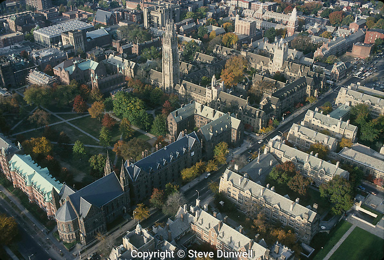 Yale University, New Haven, CT aerial