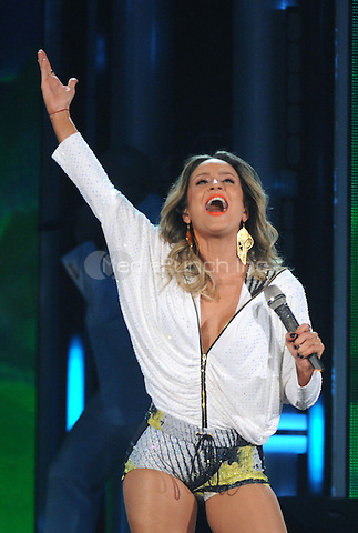 LAS VEGAS, NV - MAY 18: 5 Claudia Leitte performs on the 2014 Billboard Music Awards at the MGM Grand Garden Arena on Sunday, May 18, 2014 in Las Vegas, Nevada. PgMicelotta/MediaPunch