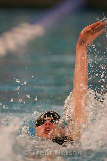 Viewmont's Melissa Manser, 200 yard IM, winner. 5A State Championship Swim Meet, held at BYU