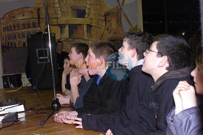 Batle of the bands night in St Josephs CBS..Picture Fran Caffrey Newsfile.