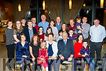 Mighty Eighty<br /> ------------------<br /> Noreen Griffin, Ballyfinnane, Firies, seated centre, celebrated her 80th birthday with family in the Ballyroe Heights hotel, Tralee on Saturday December 23rd last.