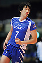 Hisashi Aizawa (Arrows), MARCH 6, 2011 - Volleyball : 2010/11 Men's V.Premier League match between Oita Miyoshi Weisse Adler 1-3 Toray Arrows at Tokyo Metropolitan Gymnasium in Tokyo, Japan. (Photo by AZUL/AFLO)