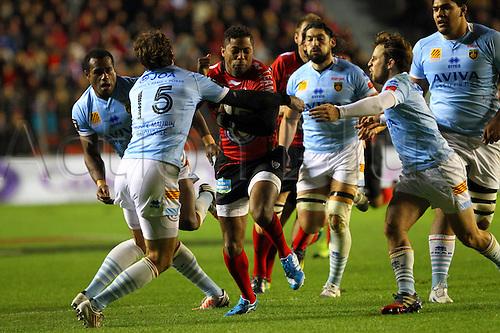 30.11.2013. Toulon, France. Top 14 rugby union. Toulon versus Perpignan.  delon armitage (rct)