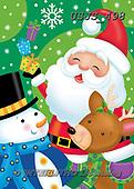 Janet, CHRISTMAS SANTA, SNOWMAN, WEIHNACHTSMÄNNER, SCHNEEMÄNNER, PAPÁ NOEL, MUÑECOS DE NIEVE, paintings+++++,USJS498,#x#