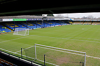 A general view from the Frank Walton stand during the Sky Bet League 1 match between Southend United and Fleetwood Town at Roots Hall, Southend, England on 13 January 2018. Photo by Carlton Myrie.