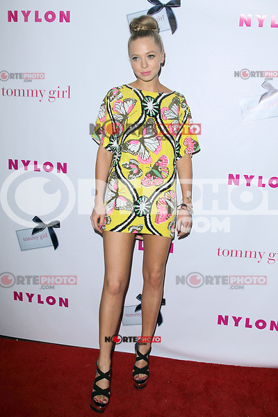 Portia Doubleday at the NYLON Magazine Annual May Young Hollywood Issue Party at Hollywood Roosevelt Hotel on May 9, 2012 in Hollywood, California. © mpi29/MediaPunch Inc.