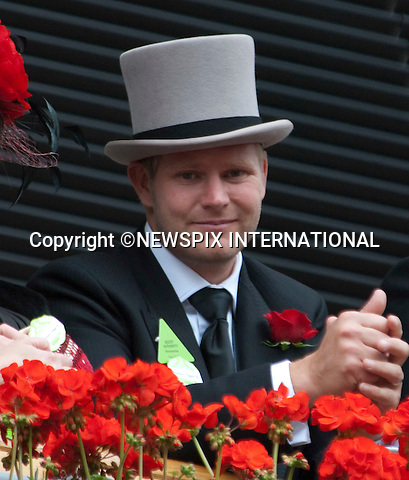 """ROYAL ASCOT- MATTHEW HOGGARD.looks on as the Queens procession enters the ring..Royal Ascot Day 2, Ascot_15/11/2011.Mandatory Photo Credit: ©Shaw/NEWSPIX INTERNATIONAL..**ALL FEES PAYABLE TO: """"NEWSPIX INTERNATIONAL""""**..PHOTO CREDIT MANDATORY!!: Newspix International(Failure to credit will incur a surcharge of 100% of reproduction fees)..IMMEDIATE CONFIRMATION OF USAGE REQUIRED:.Newspix International, .31 Chinnery Hill, Bishop's Stortford, ENGLAND CM23 3PS..Tel:+441279 324672  ; Fax: +441279656877..Mobile:  0777568 1153..e-mail: info@newspixinternational.co.uk"""