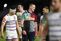 Stan South of Harlequins looks on after the match. Gallagher Premiership match, between Harlequins and Leicester Tigers on May 3, 2019 at the Twickenham Stoop in London, England. Photo by: Patrick Khachfe / JMP