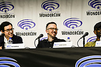 Lennie James at Wondercon in Anaheim Ca. March 31, 2019