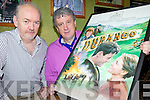SCREENING: Kieran Gleeson of the Classic Cinema in Listowel with Billy Keane announcing the first ever screening in Kerry of John B. Keane's 'Durango' as part of the Kerry Film Festival.