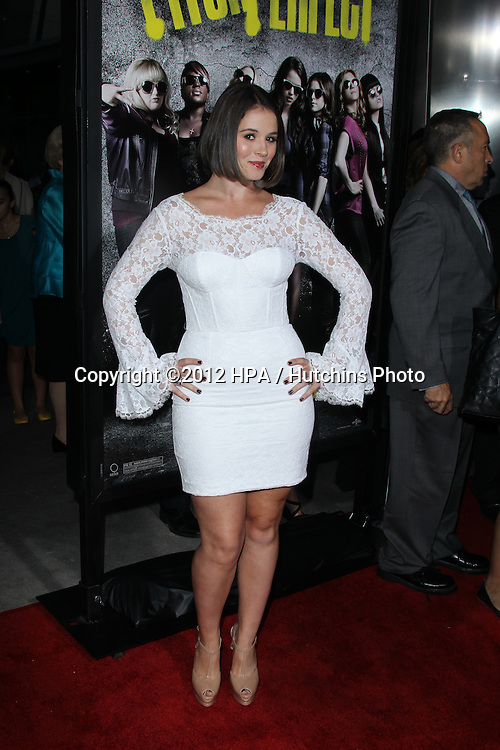 """LOS ANGELES - SEP 24:  Kether Donohue arrives at the """"Pitch Perfect'"""" Premiere at ArcLight Cinemas on September 24, 2012 in Los Angeles, CA"""