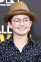SANTA MONICA, CA, USA - FEBRUARY 15: Sean Giambrone at the 4th Annual Cartoon Network Hall Of Game Awards held at Barker Hangar on February 15, 2014 in Santa Monica, California, United States. (Photo by David Acosta/Celebrity Monitor)