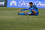 Getafe´s Roberto Lago during 2014-15 La Liga match at Alfonso Perez Coliseum stadium in Getafe, Spain. February 08, 2015. (ALTERPHOTOS/Victor Blanco)