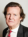 David Hare  playwriter   at The Oxford Literary Festival at Christchurch College Oxford  . Credit Geraint Lewis