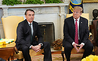 Donald Trump meets with President Jair Bolsonoro of Brazil
