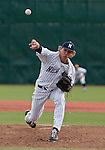 February 22, 2013:  Nevada Wolf Pack pitcher Bradey Shipley pitches agianst the Northern Illinois Huskies during their NCAA baseball game played at Peccole Park on Friday afternoon in Reno, Nevada.