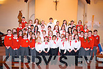 Kerry choral union junior choir along with pupils from Derryquay national school performed in front of a large attendance at St Brendan's church, Curraheen last Thursday evening to celebrate the feast of St Brendan and raise funds for Derryquay NS.