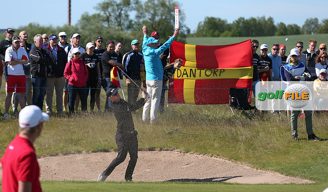 "The ""barmy-army"" are out again in force for Jens Dantorp (SWE) during Round Two of the 2015 Nordea Masters at the PGA Sweden National, Bara, Malmo, Sweden. 05/06/2015. Picture David Lloyd 