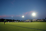 CARY, NC - OCTOBER 06: A wide shot of the field during first half action. The University of North Carolina Tar Heels hosted the Wake Forest University Demon Deacons on October 6, 2017 at Koka Booth Field at WakeMed Soccer Park in Cary, NC in a Division I college soccer game.
