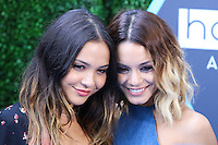 LOS ANGELES, CA, USA - JULY 27: Stella Hudgens and Vanessa Hudgens arrive at the 16th Annual Young Hollywood Awards held at The Wiltern on July 27, 2014 in Los Angeles, California, United States. (Photo by Xavier Collin/Celebrity Monitor)