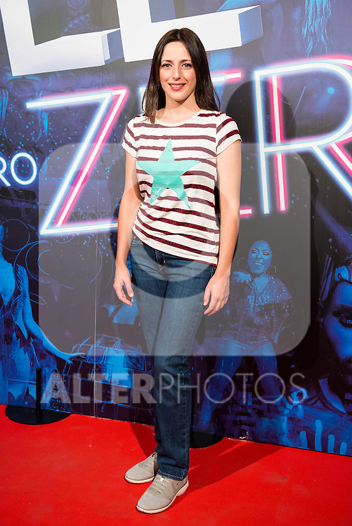 Ruth Nuñez attends to the premiere of the The Hole Zero Show at Teatro Calderon in Madrid. October 04, 2016. (ALTERPHOTOS/Borja B.Hojas)