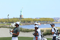 Tony Finau (USA) in action during the final round of the Northern Trust played at Liberty National Golf Club, Jersey City, USA. 11/08/2019<br /> Picture: Golffile | Phil INGLIS<br /> <br /> All photo usage must carry mandatory copyright credit (© Golffile | Phil INGLIS)