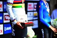 Picture by Simon Wilkinson/SWpix.com - 24/09/2018 - Cycling 2018 Road Cycling World Championships Innsbruck-Tiriol, Austria - Junior Men's Individual Time Trial - Winners Tissot watch
