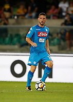 Dries Mertens  during the  italian serie A soccer match,between Hellas Verona and SSC Napoli  at  the Bentegodi    stadium in Verona  Italy , August 19, 2017