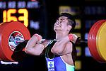 Yuta Kumakawa, <br /> MAY 22, 2016 - Weightlifting : <br /> All Japan Weightlifting Championship 2016 Men's -77kg <br /> at Yamanashi Municipal Gymnasium, Yamanashi, Japan. <br /> (Photo by AFLO SPORT)