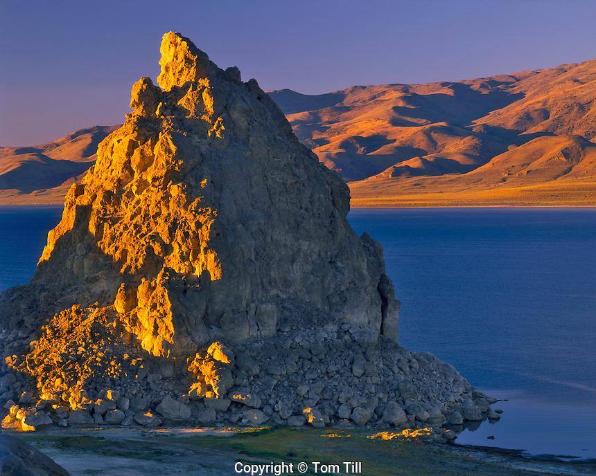 Tufa Formations in Pyramid Lake, Pyramid Lake Reservation, Nevada  Great Basin
