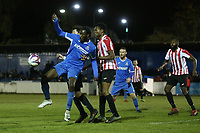 Brian Moses of Redbridge during Redbridge vs Clapton, Essex Senior League Football at Oakside Stadium on 14th November 2017