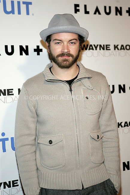 WWW.ACEPIXS.COM . . . . . ....December 18 2008, LA....Actor Danny Masterson arriving at Flaunt Magazine's 10th anniversary and annual holiday toy drive at The Wayne Kao Mansion on December 18, 2008 in Los Angeles, California.....Please byline: JOE WEST- ACEPIXS.COM.. . . . . . ..Ace Pictures, Inc:  ..(646) 769 0430..e-mail: info@acepixs.com..web: http://www.acepixs.com