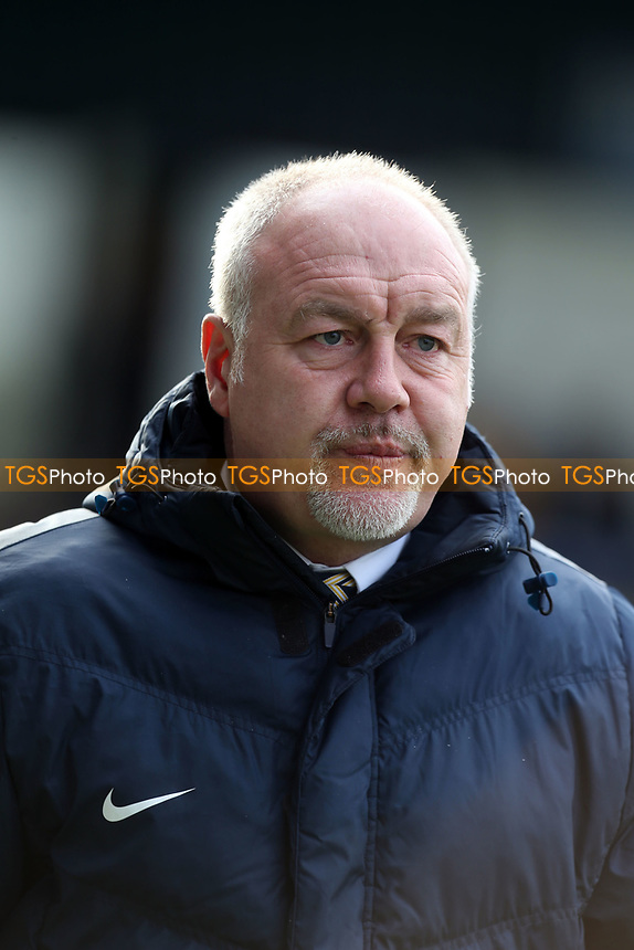 Torquay United manager Gary Owers during Torquay United vs Dagenham & Redbridge, Vanarama National League Football at Plainmoor on 17th February 2018