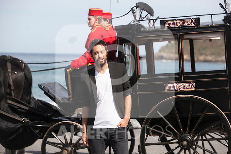 Dani Matinez poses during `Hotel Transilvania´ film presentation at 63rd Donostia Zinemaldia (San Sebastian International Film Festival) in San Sebastian, Spain. September 25, 2015. (ALTERPHOTOS/Victor Blanco)