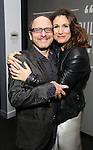Lonny Price and Stephanie J. Block attends 'Best Worst Thing That Ever Could Have Happened' broadway screening at SAG-AFTRA on November 13, 2016 in New York City.