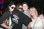 Shauna Russell, Sheena Clingen, Eoin O Meachair and Becky Cullen at the Man in the Mirror, Michael Jackson Night in Fusion...Photo NEWSFILE/Jenny Matthews.(Photo credit should read Jenny Matthews/NEWSFILE)....This Picture has been sent you under the condtions enclosed by:.Newsfile Ltd..The Studio,.Millmount Abbey,.Drogheda,.Co Meath..Ireland..Tel: +353(0)41-9871240.Fax: +353(0)41-9871260.GSM: +353(0)86-2500958.email: pictures@newsfile.ie.www.newsfile.ie.FTP: 193.120.102.198.