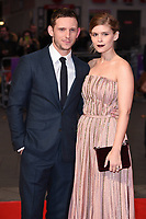 Jamie Bell and Kate Mara<br /> arriving for the London Film Festival 2017 screening of &quot;Film Stars Don't Die in Liverpool&quot; at Odeon Leicester Square, London<br /> <br /> <br /> &copy;Ash Knotek  D3331  11/10/2017